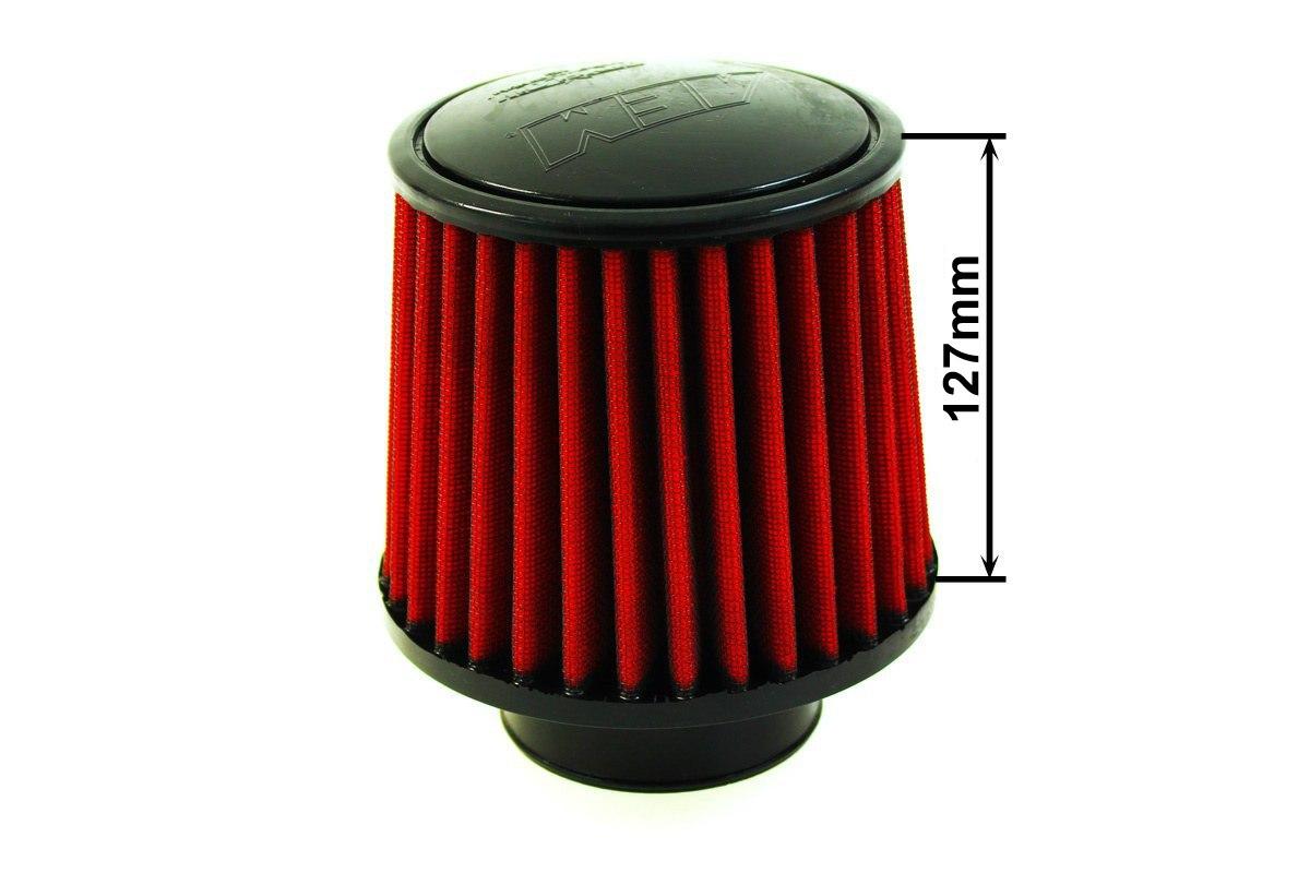 Filtr stożkowy AEM 21-203DOSK 60-77MM - GRUBYGARAGE - Sklep Tuningowy